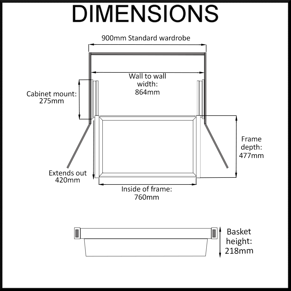 pull-out-wardrobe-basket-dimensions